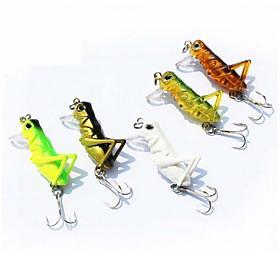 1 pcs Hard Bait / Fishing Lures Hard Bait Random Colors 3 g Ounce mm inch,Hard Plastic Bait Casting