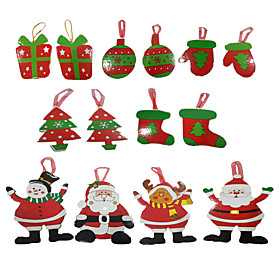 Christmas Tree Hanging Christmas Card Christmas Card Wishing card Christmas Decoration Supplies