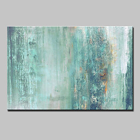 Hand-Painted Abstract Horizontal, Modern Canvas Oil Painting Home Decoration One Panel 5317534