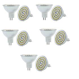 6W GU5.3(MR16) Точечное LED освещение MR16 60 SMD 3528 550-600LM lm Тёплый белы