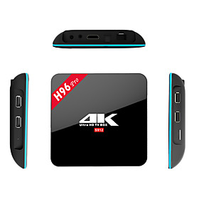 H96 pro Amlogic S912 android 6.0 slimme tv box 4k 2gb ram 16gb rom octa kern wifi
