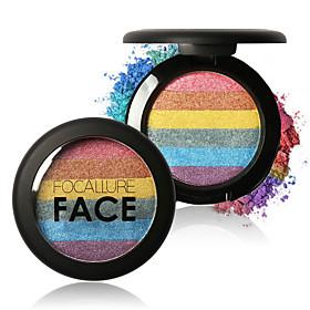 FOCALLURE New Rainbow Highlighter Palette