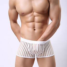 Men Shorties  Boyshorts,PU Panties