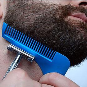 Beard Bro Beard Shaping Tool Sex Man Gentleman Beard Trim Template Hair Cut Hair molding Trim Template Beard Modelling Tools 5386243