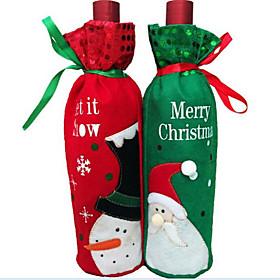 1PCS Christmas Wine Bottle Wine Bottle Bag