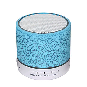 A9 Mini Portable Super Bass Bluetooth 3.0 USB Speaker Wireless bluetooth speaker Green White Light Blue Light Pink