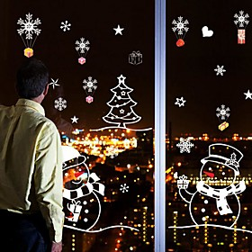 Image of Christmas / Cartoon / Holiday Wall Stickers Plane Wall Stickers Decorative Wall Stickers / Wedding Stickers,PVC MaterialRemovable /