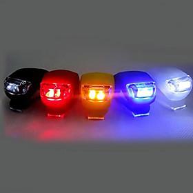 Front Bike Light / Rear Bike Light / Silicone Bike Light LED Bike Light Cycling Clip, Small Size, Pocket Cell Batteries Battery Cycling / Bike / Multifunction