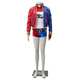 Cosplay Costumes Super Heroes Movie Cosplay Red Coat Pants Gloves T-shirt Halloween Christmas New Year Male Female Leather Lycra 5389274
