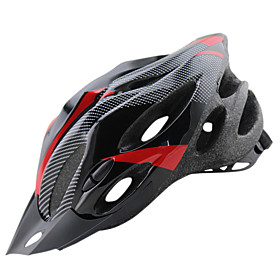 Adults Bike Helmet 20 Vents CE Impact Resistant Lightweight Adjustable Fit Carbon Fiber EPS PC Sports Mountain Bike / MTB Road Cycling Cycling / Bike - Yellow