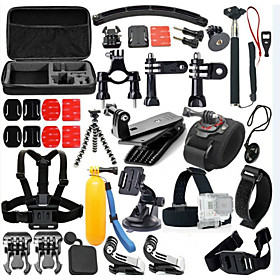 Accessory Kit For Gopro 46 in 1 Adjustable Waterproof Floating Dust Proof ForXiaomi Camera Gopro 5 Gopro 4 Gopro 4 Silver Gopro 4 Session