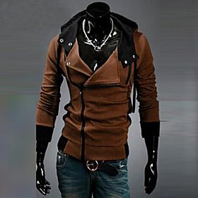 Men's Casual/Sport/Plus Sizes Pure Long Sleeve Activewear Sets (Cotton Blends) PGS101 3204
