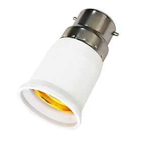 B22 to E27 LED Bulbs Socket Adapter