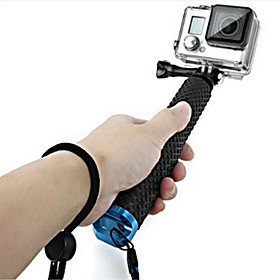 Accessories For GoPro,Telescopic Pole Monopod Handgrepen BevestigingVoor-Actiecamera,Gopro Hero 5/4/3/3/2/1 1pcs metalen rubber