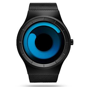Sinobi Men's Quartz Wrist Watch Sport Watch Water Resistant / Water Proof Shock Resistant Stainless Steel Band Luxury Casual Unique