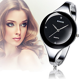 Women's Strap Watch Casual Big Minimalism Dial Alloy Bracelet Cool Watches Unique Watches Fashion Watch