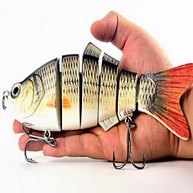 """1 pcs Leurre souple leurres de pêche Poissons nageur/Leurre dur Leurre souple Couleurs assorties g/Once mm/8-1/4"""" pouce,Plastique souple"""