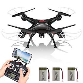 Drone SYMA X5SW 4-kanaals 6 AS 2.4G Met camera RC quadcopterFPV / LED-verlichting / Terugkeer Via 1 Toets / Headless-modus / 360 Graden