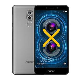HUAWEI Honor 6x 5.5 2.5D Android 6.0 4G Metal Fingerprint Smartphone (Dual SIM 16nm Octa Core 12MP Dual camera 3GB 32GB 3340mAh)