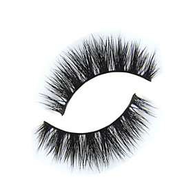 Eyelashes lash Full Strip Lashes Eyes The End Is Longer Extended Lifted lashes Handmade Animal wool eyelash Black Band 0.15mm 12mm