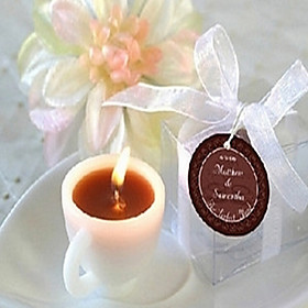 Coffee Cup Candle Wedding 5521498