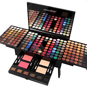 180 Eyeshadow Palette Dry Eyeshadow palette Powder Large Daily Makeup