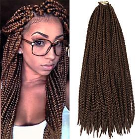 box braids twist braids brown with auburn hair braids 24inch kanekalon 90g synthetic hair extensions 5380847
