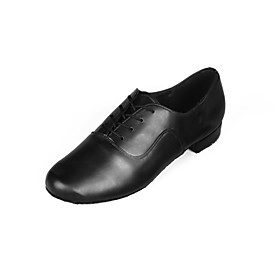 Men's Dance Shoes Faux Leather Latin Shoes Heel Low Heel Customizable Black / Indoor / Performance / Practice / Professional / EU43 Category:Latin Shoes; Upper Materials:Faux Leather; Lining Material:Fabric; Heel Type:Low Heel; Actual Heel Height:0.98; Gender:Men's; Range:EU43; Style:Heel; Heel Height(inch):<1; Outsole Materials:Suede; Occasion:Professional,Beginner,Practice,Performance,Indoor,Outdoor; Closure Type:Lace-up; Customized Shoes:Customizable; Listing Date:01/10/2017; Foot Length:; SizeChart1_ID:2:482; Size chart date source:Provided by Supplier.; Base Categories:Dance Shoes,Shoes,Apparel  Accessories; Popular Country:Mexico,United Kingdom,Denmark,United States