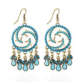 Earring Imitation Opal Circle Stud Earrings / Drop Earrings Jewelry Women Tassels / Adorable Daily Alloy