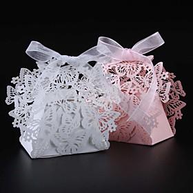 50pcs/lots butterfly wedding favors box candy box 5554920