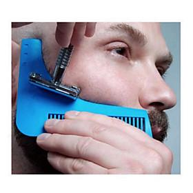1Pcs Beard Shaping Tool Gentleman Beard Trim Template Hair Cut Hair Molding Trim Template Beard Modelling Tool 5538238