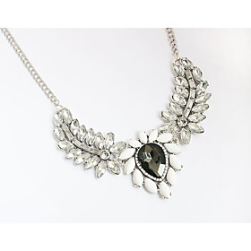 Women's Choker Necklaces Pendant Necklaces Chain Necklaces Rhinestone Rhines..