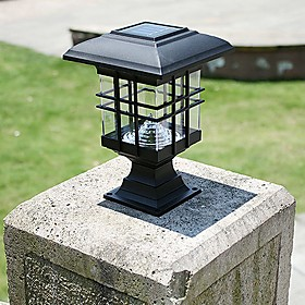 Solar Panel Lamp solar lamp post column headlights fence lamps wall lamp headlamp led solar light outdoor garden lights