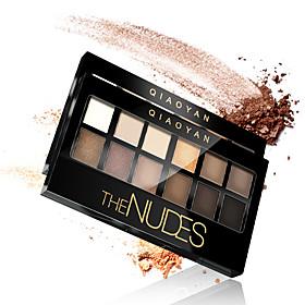 1Pcs 12Color Pigment Bronzer Glitter Matte Eye Shadow Brand Cosmetics Eyes Makeup Naked Palette Nude Eyeshadow Kit