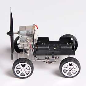 DIY Mini Wind Car 90 Small Technology Small Invention Package of Educational Toys Toy Car