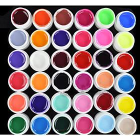 36PCS Mixs Pure Color UV Color Gel(8ml) 1688659