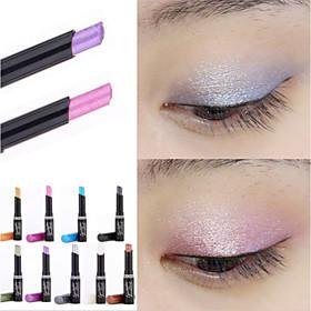 1Pcs  Brand  Eyeshadow Stick Music Flowers Single Colors Golden Luminous Eye Shadow Cosmetic Eyes Cream Pen