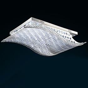 Contemporaneo LED Bicchiere Montaggio del flusso Salotto / Camera da letto / Sala da pranzo / Sala studio/Ufficio