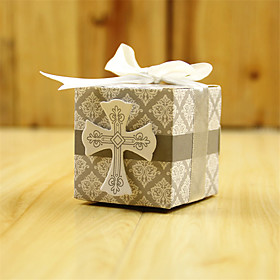 50pcs/lots Wedding Box Cross Candy Box Chocolate Packaging Wedding Favor Box Party Supplies Wedding Decorations Gifts For Guests 5605195
