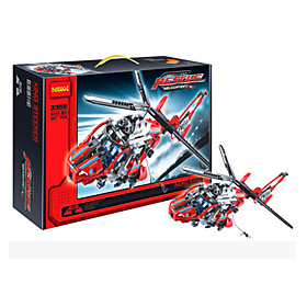 Image of Building Blocks For Gift Building Blocks Model Building Toy Helicopter Plastic 2 to 4 Years 5 to 7 Years 8 to 13 Years 14 Years Up