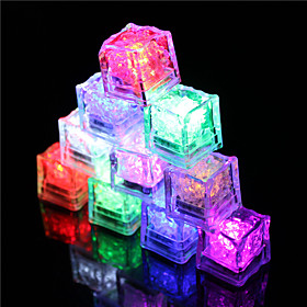 12Pcs Color Changing Ice Cubes Led Light