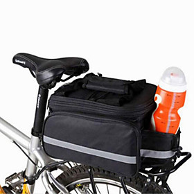 WEST BIKING 20 L Bike Panniers Bag Bike Rack Bag Adjustable Large Capacity Waterproof Bike Bag Nylon Bicycle Bag Cycle Bag Cycling / Bike