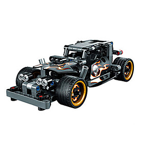 Image of Building Blocks For Gift Building Blocks Model Building Toy Car Plastic 2 to 4 Years 5 to 7 Years 8 to 13 Years 14 Years Up Black