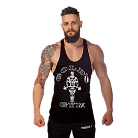 Men's Gym Tank Top Quick Dry High Breathability (>15,001g) Breathable Lightweight Materials Sweat-wicking Tank Top for Exercise  Fitness 4915258