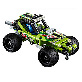 Image of Building Blocks For Gift Building Blocks Model Building Toy Car Plastic 2 to 4 Years 5 to 7 Years 8 to 13 Years 14 Years Up Green