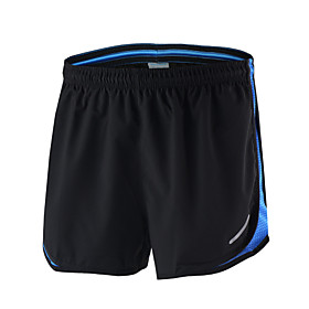 Arsuxeo Men's Running Shorts Quick Dry Breathable Soft Reflective Trim/Fluorescence Lightweight Materials Reflective Strips Reduces 5596308