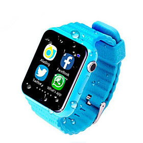 Waterproof Kids Gps Smart Watch Kids Safe Anti Lost Monitor Watches With Camera/facebook Sos Call Location Device Tracker