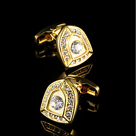 Luxury Peltate Cufflinks Men's Jewelry French Shirt Sleeve Buttons Knight Design Cuff link High Quality Brand Men Cuffs 5746338
