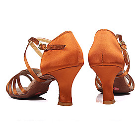 Customizable Women's Dance Shoes for Latin/Salsa /2 Colors