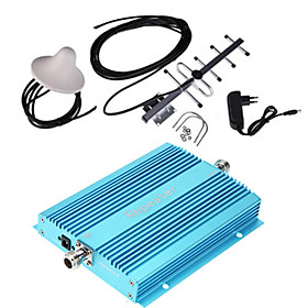 GSM 900MHz Mobile Phone Signal Repeater Booster Amplifier  Antenna Kit